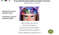 TALLER INFANTIL DE INTELIGENCIA EMOCIONAL en Las Rozas